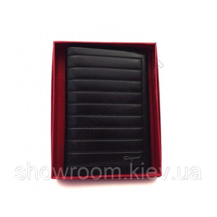 Обложка для паспорта Salvatore Ferragamo (F-7101) black leather