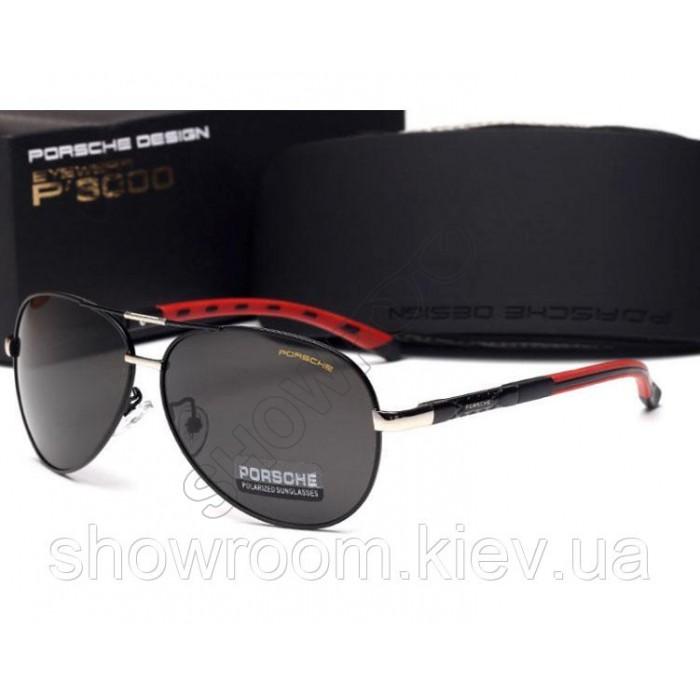 Солнцезащитные очки Porsche Design c поляризацией (p-8724 new) black