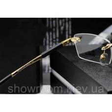 Мужская оправа Montblanc mb 0349 gold