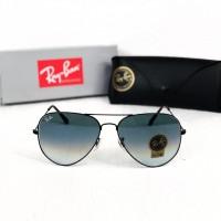 Мужские солнцезащитные очки авиаторы Ray Ban black