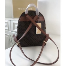Жіночий шкіряний брендовий рюкзак Michael Kors Rhea Zip M Lux