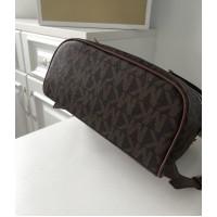 Женский кожаный брендовый рюкзак Michael Kors Rhea Zip B Lux